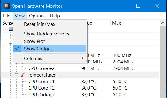 Как определить температуру процессора